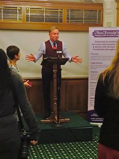 Speaking at House of Commons for Anna Kennedy on line