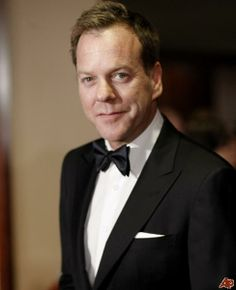 kiefer sutherland  | Kiefer Sutherland arrives at the Directors Guild of America Awards on ...