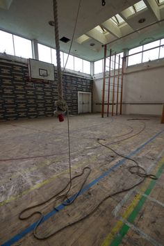 We used to enjoy swinging on that rope. Holy Trinity Convent School, Bromley - 2012