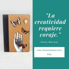 ¡Buenos días!  A seguir...   #Citas #Frases #Creatividad #Inspiración #Imaginación #Coraje #HenriMatisse #Matisse #Quotes #InspirationalQuotes #Creativity #Inspiration #Imagination #Courage