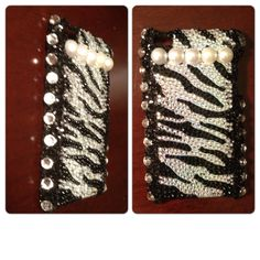 Zebra Print IPod case I made.