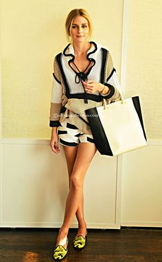Fashion Inspiration by Olivia Palermo (THE OLIVIA PALERMO LOOKBOOK)