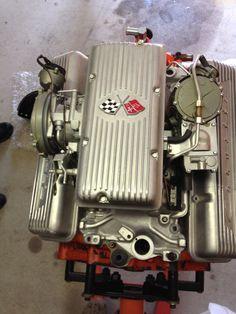 1963 Corvette 327 Fuelie Engine Complete All Rebuilt Fresh   eBay