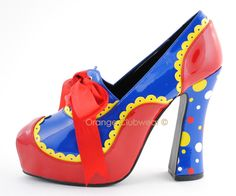 """funky shoes 