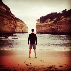 He's a #pirate - thinking warm thoughts today. #magical #cove off the Great Ocean Road #12apostles #park #Australia by joshmurrayactor http://ift.tt/1ijk11S