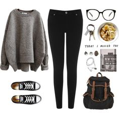 A fashion look from November 2015 featuring Warehouse jeans, Converse sneakers and UO backpacks. Browse and shop related looks.