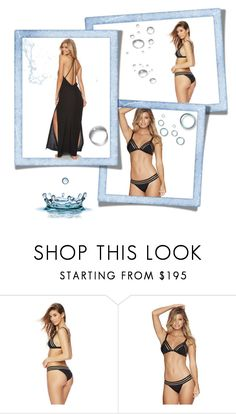"""""""Beach Bunny in black"""" by shopaa ❤ liked on Polyvore featuring Beach Bunny, beach and beachbunny"""