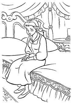 Gaston and Lefou Coloring Page Celebrate the tale as old time