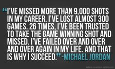 "Success and Failure are all part of your ""Life Coin"". Just keep on flipping the coin. Keep on keeping on. Overcoming Failure allows you to see the Success."