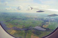 Llegando al aeropuerto de Schiphol en Amsterdam