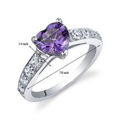 Most brides wouldn't be happy with a cheap ring, but I'd just die if Eric got me this ring. He already knows that it has to be amethyst. <3