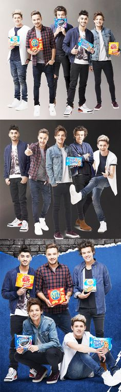 Omg remember the last time they did this?? Like if you were there for the Nabisco photoshoot last year