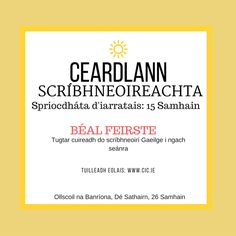 A great selection of books in Irish and traditional Irish music and traditional Irish song available. Irish teaching resources, classroom readers in Irish, learning Irish books, children's books in Irish available online and in our shop in Connemara. Irish Songs, Irish Language, Irish Traditions, Samhain, Teaching Resources, Childrens Books, Workshop, Classroom, Author