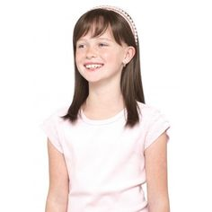 Miley (Mono Top) Wig From Amore Collection By Rene of Paris - Children's Wigs - Wigs Childrens Wigs, 1 Image, Medium Brown, Hair Pieces, V Neck, T Shirts For Women, Shopping, Collection, Tops