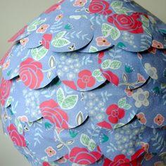 Paper Roses Lampshade £39.50
