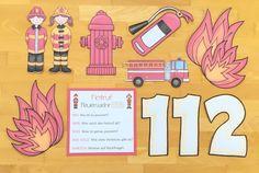 Materialwiese: Feuer und Feuerwehr in der Grundschule