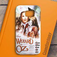 Wizard Of Oz Movie Poster Samsung Galaxy S6 Case   casefantasy