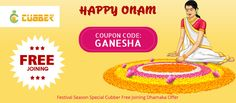 On this Onam Festival Season Cubber Giving you lots of happiness and earning opportunity with lifetime   Keral People has opportunity on they favourite festival  To get free joining on Cubber Social Economy Platform   Use Coupon code :- GANESHA  Download cubber app now :- http://cubber.in/app Shop and earn though website:- http://shop.cubber.in  #cubberapp #cashbackoffers #shoppingonline #cubbershop  #ganeshchaturthi #discount #sale #couponcode #onlinestore #cubberin #extraearn #refernearn…