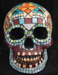 Lifesize Dia de los Muertos Skull Featured in 42 by Jiveworks