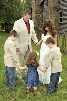 Blended Family Prayer Before The Ceremony :)