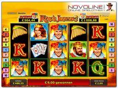 Zu den über 10 progressiven online Slots im Novoline Casino StarGames gesellt sich King's Jester mit doppelt zahlendem Wild und der Wild Reel Funktion während der Freispielrunde.  http://www.novolineonlinespielothek.com/novoline-spiele-liste/novoline-kings-jester/