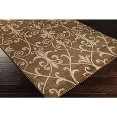 Meticulously Woven Bartow Damask Polypropylene Area Rug (2' x 3'3) | Overstock™ Shopping - Great Deals on Accent Rugs