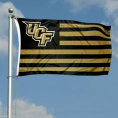 UCF Knights Stripes Nation Flag