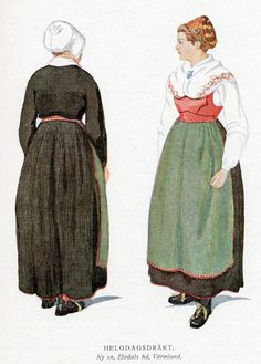 Traditional Varmland dress