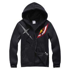 KILL la KILL Kamui Senketsu zip-up hoodie