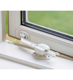 BabyDan Window Locks (Pack of Window Locks, Baby Equipment, Buy Windows, 6 Pack, Home Safety, Childproofing, Childcare, Door Handles, Office Supplies