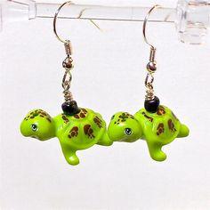 LEGO Friends Turtle Earrings. $22.00, via Etsy.