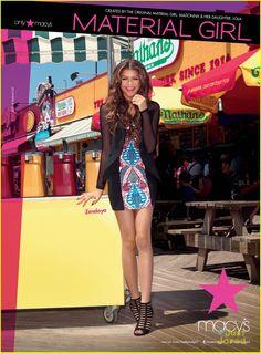Zendaya + Material Girl = Perfect Match | zendaya new face material girl 01 - Photo