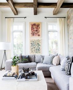 Living Room Inspirations: A Pile of Pillows Helps The Medicine Go Down | www.livingroomideas.eu