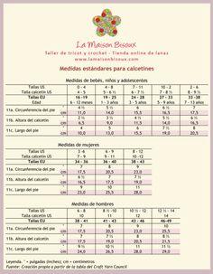 Cómo tomar las medidas del cuerpo para tejer | La Maison Bisoux