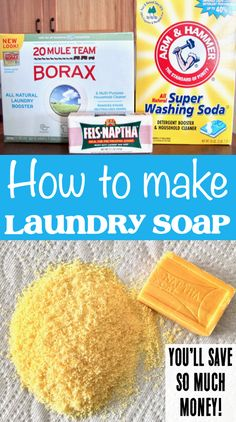 When I was visiting my friend this summer, I put her detergent to the test, and she sold me on the idea of How to Make Homemade Liquid Laundry Detergent! Laundry Detergent Recipe, Homemade Laundry Detergent, Diy Clothes Detergent, Powder Laundry Detergent, Cleaners Homemade, Diy Cleaners, Cleaning Tips, Cleaning Products, Bubble