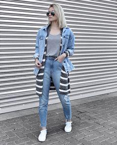 jeans e sobreposição.