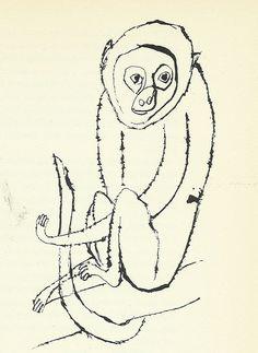 """""""Monkey"""" by Ben Shahn"""