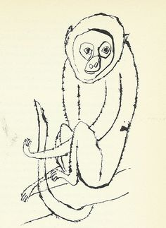 """Monkey"" by Ben Shahn"