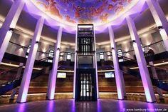Planetarium Hamburg: Hier ein Blick in die neue Halle des Hamburger Planetariums nach dem Umbau. #Planetarium #Hamburg http://www.sehenswuerdigkeiten-in.hamburg/architektur/planetarium-hamburg