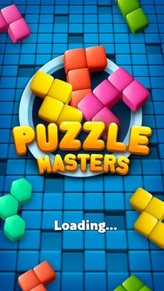Puzzle Masters on Behance Game Gui, Game Icon, Puzzle Logo, Kit Games, Match 3 Games, Game Ui Design, Casino Slot Games, Game Interface, Splash Screen