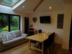 Bi folds extension family living space