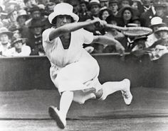 Suzanne Lenglen, Tennis player Olympic Bronze Medalist. Great Gatsby Era *Get paid for your passion for writing about sports! http://www.sportsblog.com