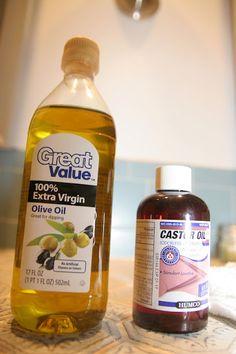 Oil Cleansing Method....so good for radiant, clear skin!