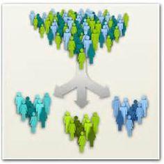 De markt verdelen in verschillende doelgroepen en je daarbij richten op één specifieke doelgroep.