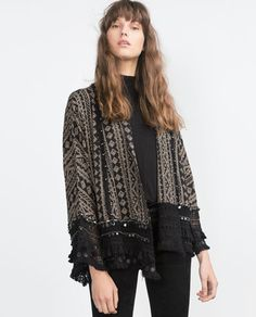 Zareando Forever: Zara New: Kimono Estampado