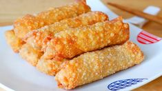 How to Make Chicken Egg Roll at Home? CiCi Li - Asian Home Cooking Recipes - Egg Roll Recipes, Tofu Recipes, Cooking Recipes, Cat Recipes, Chicken Egg Rolls, Chicken Eggs, American Appetizers, Mapo Tofu Recipe, Chinese New Year Food