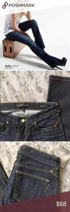"Selling this Kasil Workshop ""Devious Slim Boot"" Jeans on Poshmark! My username is: kimsalittlepea. #shopmycloset #poshmark #fashion #shopping #style #forsale #Kasil Workshop #Denim"