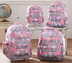 Mackenzie Glitter Ballerina Backpacks #pbkids