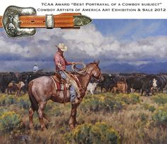 """Park Valley Cowboy"" by Jason Rich (Cowboy Artist)"