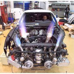 Drag Car bi turbo